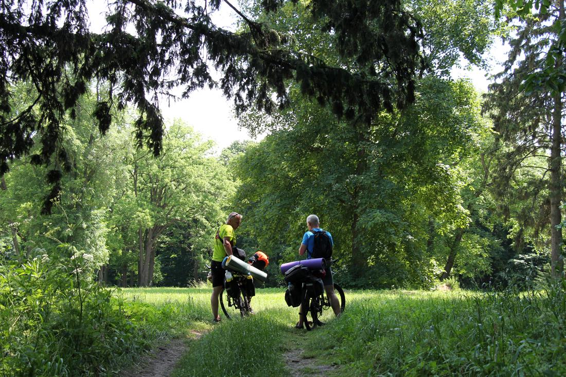 Выйти из зоны комфорта… (небольшое велопутешествие по Черниговской области, июнь 2021)